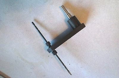 """Pancake Drill Offset Drill Attachment with 1/4"""" shaft for 1/4-28 bits  (D 3)"""