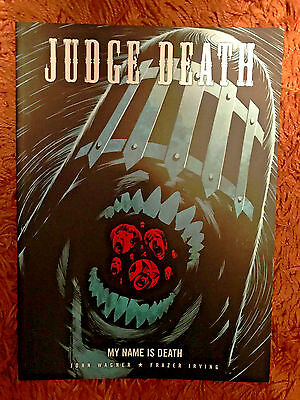 2000Ad Judge Death  My Name Is Death Mint Condition Paperback Book