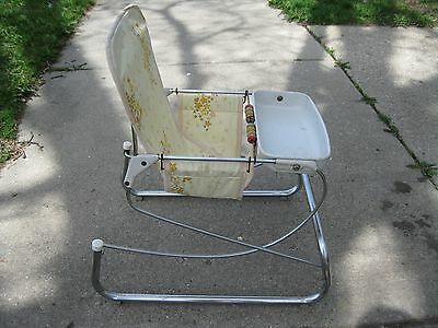 Vintage Cosco Teeterbabe Bouncer Seat From 1959 Good Vintage Condition.
