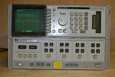 HP 8510A Network Analyzer - with Display Section