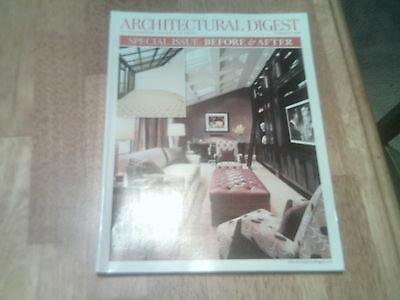 Architectural Digest February 2008 Vol. 65 #2- Special Before & After Issue