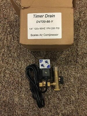 NEW Air System Products DV720-66-Y Air Compressor Automatic Condensate Drain
