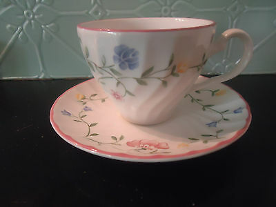 johnson bros summer chintz tea cup & saucer several available