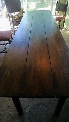 Imported European Farm Table 9 ft x 2.5 ft
