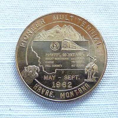 Havre Montana Multitennial commemorative token / medal - MT