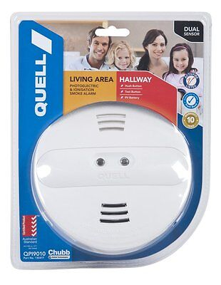 QUELL Living Area and Hallway Dual Sensor Ionisation / Photoelectric QPI9010