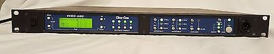 Clear-Com WBS-680 Wireless 2-Wire 4-Wire UHF Intercom Base Station C6 Band