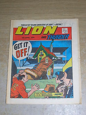 Lion & Thunder 6th April 1974