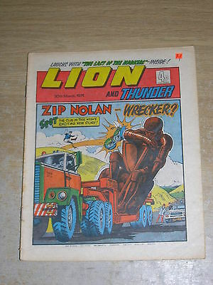 Lion & Thunder 30th March 1974