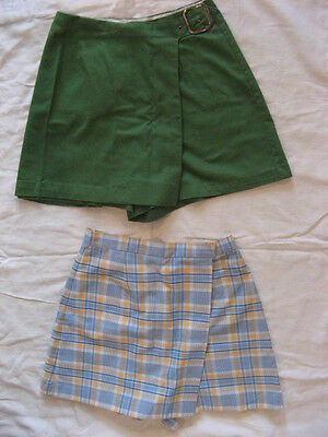 Vintage Mod Juniors Scooter Skirts Skorts Late 1960's Russ Girl/other, Excellent