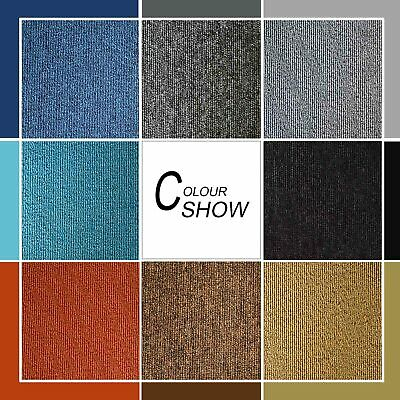 BRAND NEW Commercial Grade Carpet Tile Grey Black Red Beige Blue 5sqm $99