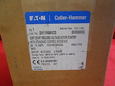 Cutler-Hammer  S811N66N3S Soft Start Reduced Voltage Motor Starter