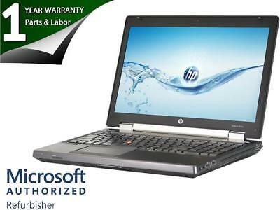 "HP EliteBook 8570w 15"" Mobile Workstation Laptop Intel Core i7 3320M (2.6 GHz) 8"
