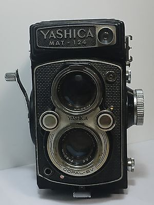 Yashica MAT - 124, looks nice, Never Tested  Sold As Is.