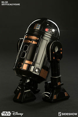 "Star Wars "" Droid R2Q5 "" sideshow . Hot Toys scale 1/6"