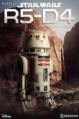 "Star Wars Sideshow "" R5D4 droid "" Sealed . Hot Toys scale 1/6"