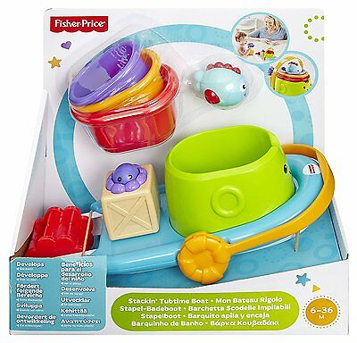 Fisher-Price Stackin' Tubtime Boat 6+ Months