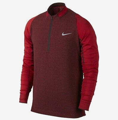 Nike Engineered 1/2 Zip Sweater Golf Top Pullover - XL - New  ~ 746072 657