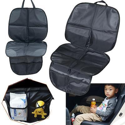 Baby/Child/Infant Cover Mat / Car Seat Saver Protector/ Anti-slip/Storage Pocket