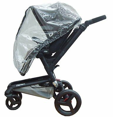 Heavy Duty baby Pushchair or prum Rain Cover to Fit Jane Rider and Trider