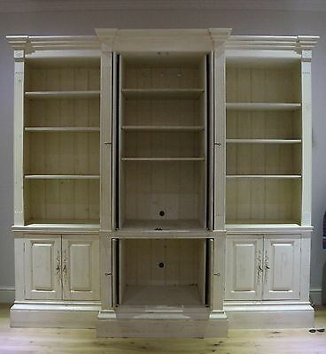 French Provincial Bookcase (Off-White,Used)