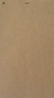50 Sheets Recycled Brown Paper A4 / 80gsm