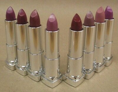 Maybelline ColorSensational Lipstick The Purples YOU PICK SHADE NEW Exp 09/17 +