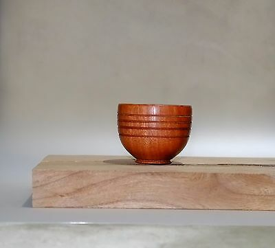 Ring Bowl from Red Gum - Small