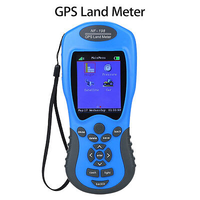 "GPS Land Meter Area Measuring Value 2.8"" Display Land Survey Outdoor For Mapping"