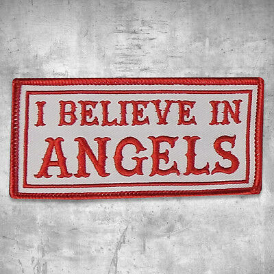 """Support 81 Aufnäher Patch """"I Believe In Angels"""" HAMC North End"""