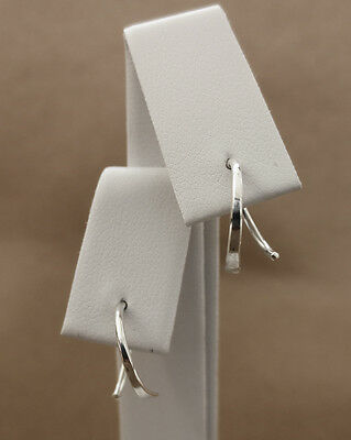 925 Sterling silver handmade tiny hoop earrings
