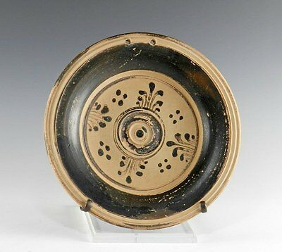 Ancient Messapian Plate - Canosa - Apulian Antiquities - Greek