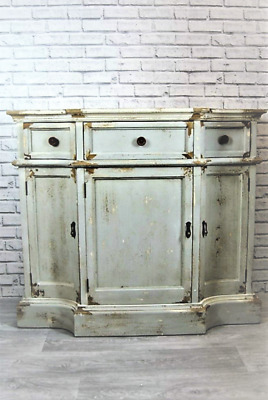 Large Beautiful Rustic Ornate Sideboard with Drawers and Doors