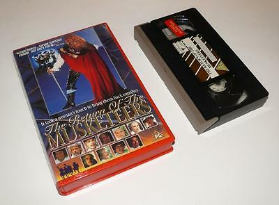 VHS Video ~ The Return of the Musketeers ~ Large Case Ex-Rental ~ EIV