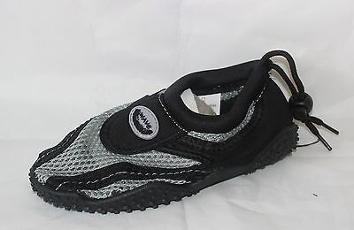 Children Easy USA Wave Water Shoes BLK/GRY - G1185-BLKGRY