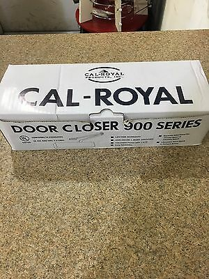 Cal Royal 900 Series Door Closer With Adjustable Size - Aluminum