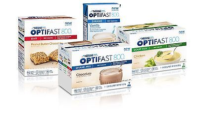 Optifast® 800 Powder Shakes | Choice Of 04 Boxes | Chocolate Vanilla Strawberry