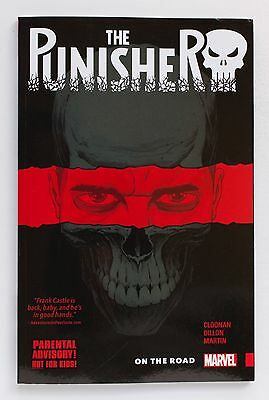 The Punisher On The Road Vol. 1 Marvel Graphic Novel Comic Book