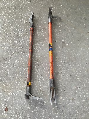2 Halligan  Tools Firefighter Tools 36""