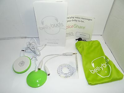 BellyBuds Belly Buds Baby Bump Sound System Headphones