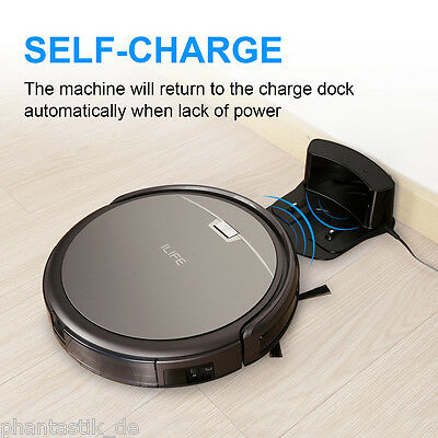 ILIFE A4 Smart Automatico Vacuum Vuoto Cleaner Cleaning Robot Aspirapolvere IT
