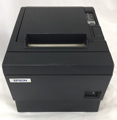 Epson Tm-T88Iii Receipt Printer With Usb Interface, Charcoal Grey Color