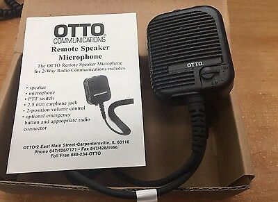 BRAND NIB - Otto Evolution V2-10315 - Remote Speaker Mic - DISC. -  MANY AVAIL!!