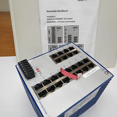 Hirschmann OpenRail Fast Ethernet Switch: RS20-2400T1T1SDAUHH
