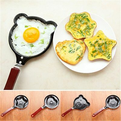 Molds Cartoon Pancake Non-Stick Pot Egg Frying Pan Mini Saucepan