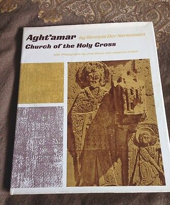 Aght'amar Church Of The Holy Cross HB DJ Harvard Press Byzantine 1965 Armenian