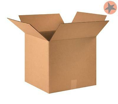 """25 - Corrugated Boxes 8 x 8 x 7"""" - Cardboard Shipping Box Moving Cartons"""