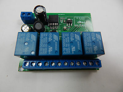 DIYmall 4 Channel Relay Module Bluetooth 4.0 BLE for Apple iOS iPhone IOT