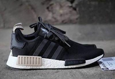 079a35a1b ADIDAS NMD R1 Nomad Core Black Sand Brand New Men Size 8-14 (S76847 ...