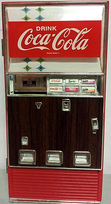1996 Coca Cola Vending Machine Musical Coin Bank